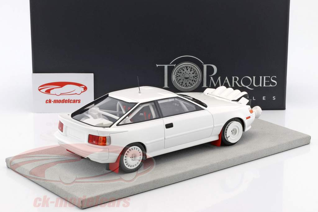 Toyota ST 165 Ready to Race 1991 white 1:18 TopMarques