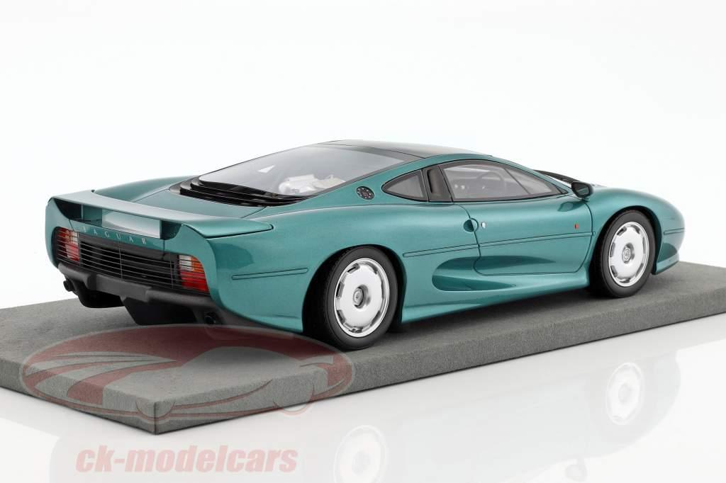 Jaguar XJ 220 year 1992 green metallic 1:18 TopMarques