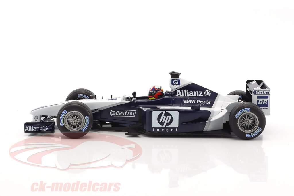 Juan Pablo Montoya Williams FW24 #6 formula 1 2002 1:18 HotWheels