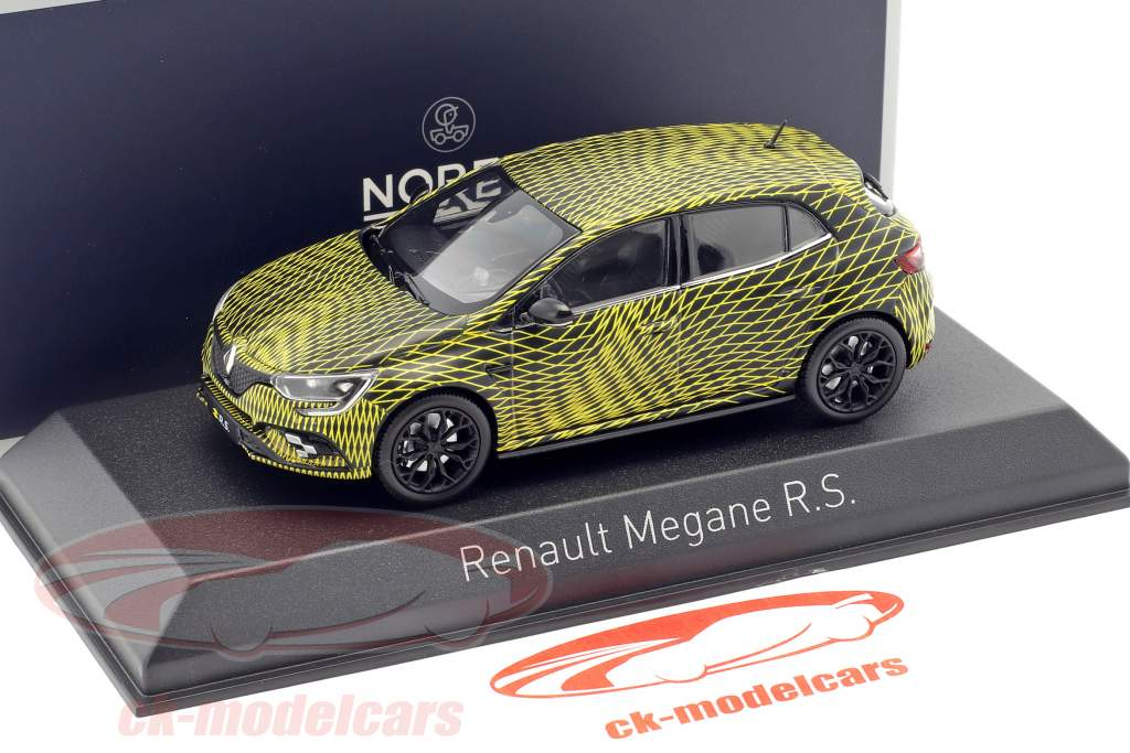 Renault Megane R.S. test version monaco GP 2017 1:43 Norev