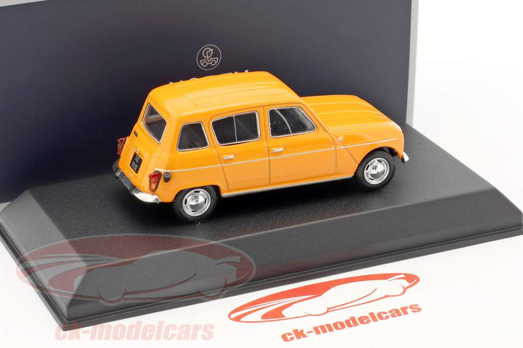 Renault 4 année de construction 1974 orange 1:43 Norev