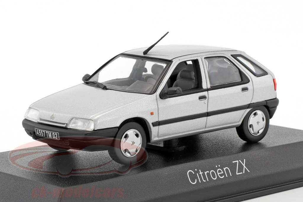 Citroen ZX Construction year 1991 quartz grey 1:43 Norev