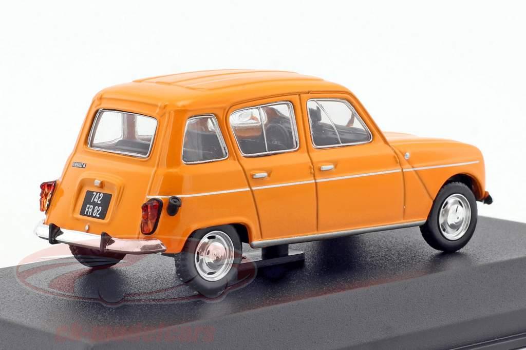 Renault 4 Baujahr 1974 orange 1:43 Norev