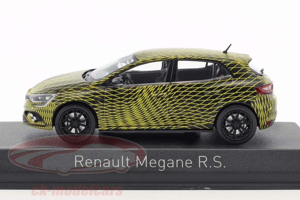 Renault Megane R.S. test version monaco GP 2017 1:43 Norev
