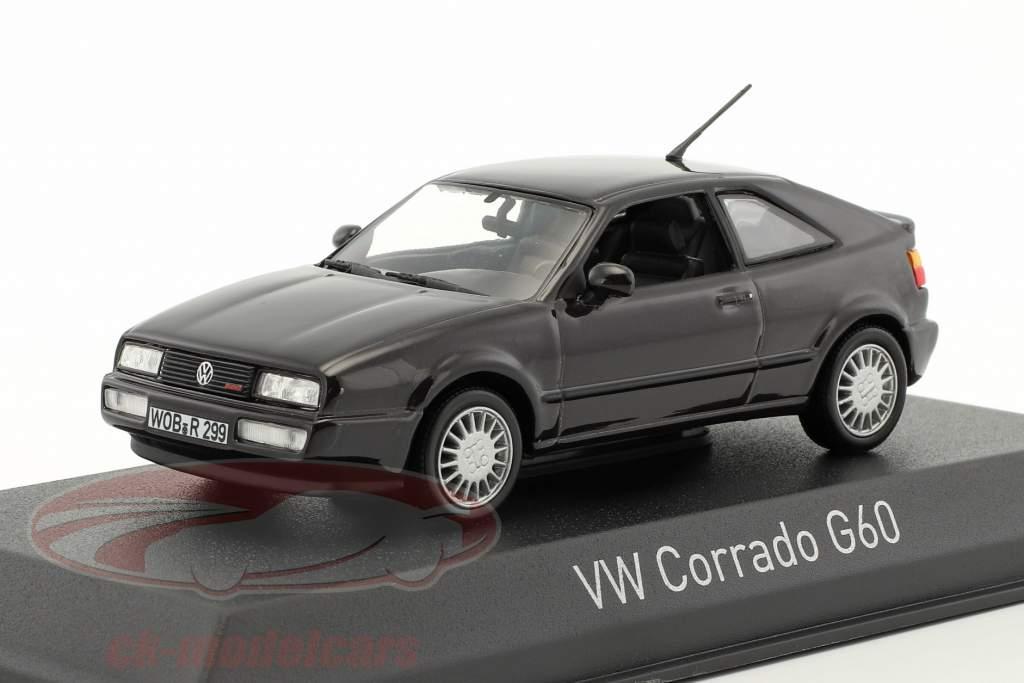 Volkswagen VW Corrado G60 année de construction 1990 violet foncé métallique 1:43 Norev