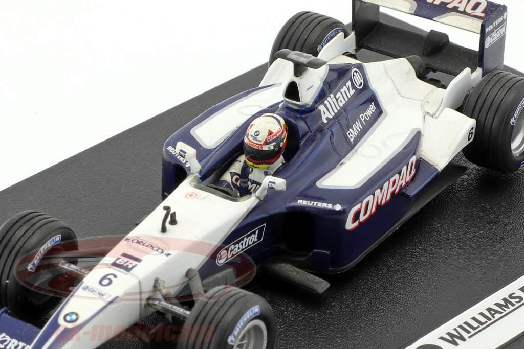 Juan Pablo Montoya Williams FW23 #6 formule 1 2001 1:43 HotWheels