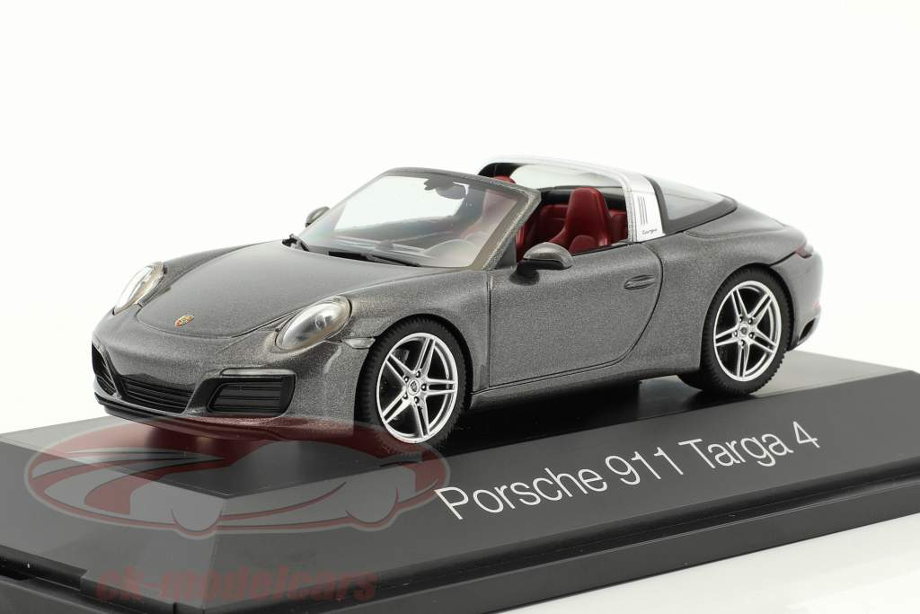 Porsche 911 (991) Targa 4S agate gray metallic 1:43 Herpa