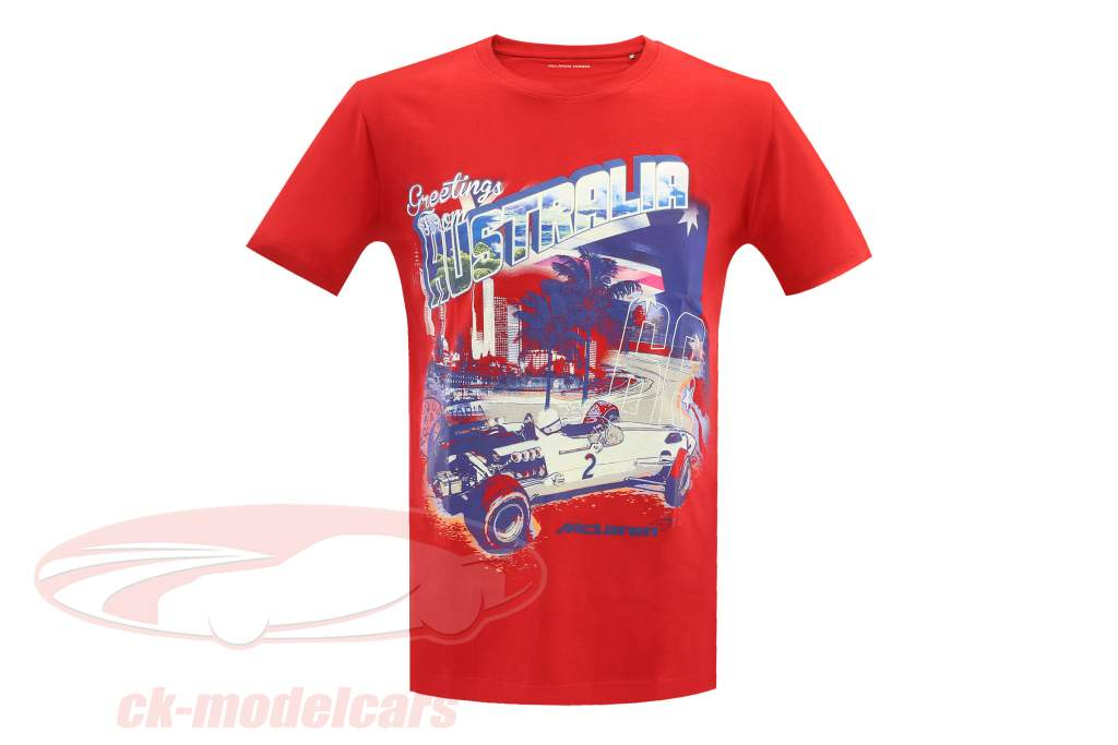 McLaren Greetings from Australia T-Shirt rot