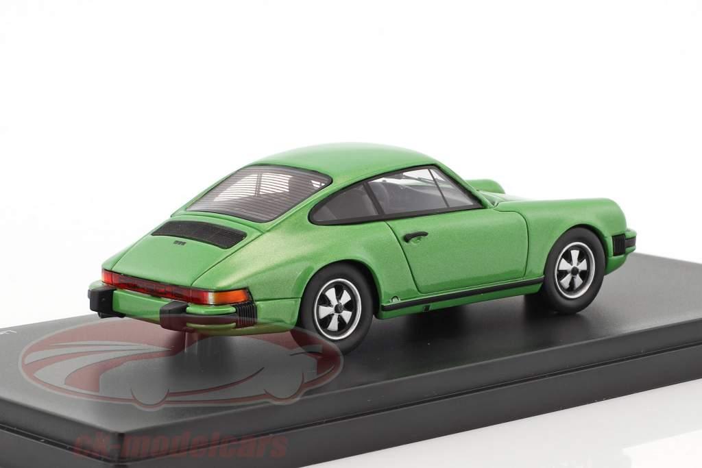 Porsche 911 Coupe grün metallic 1:43 Schuco