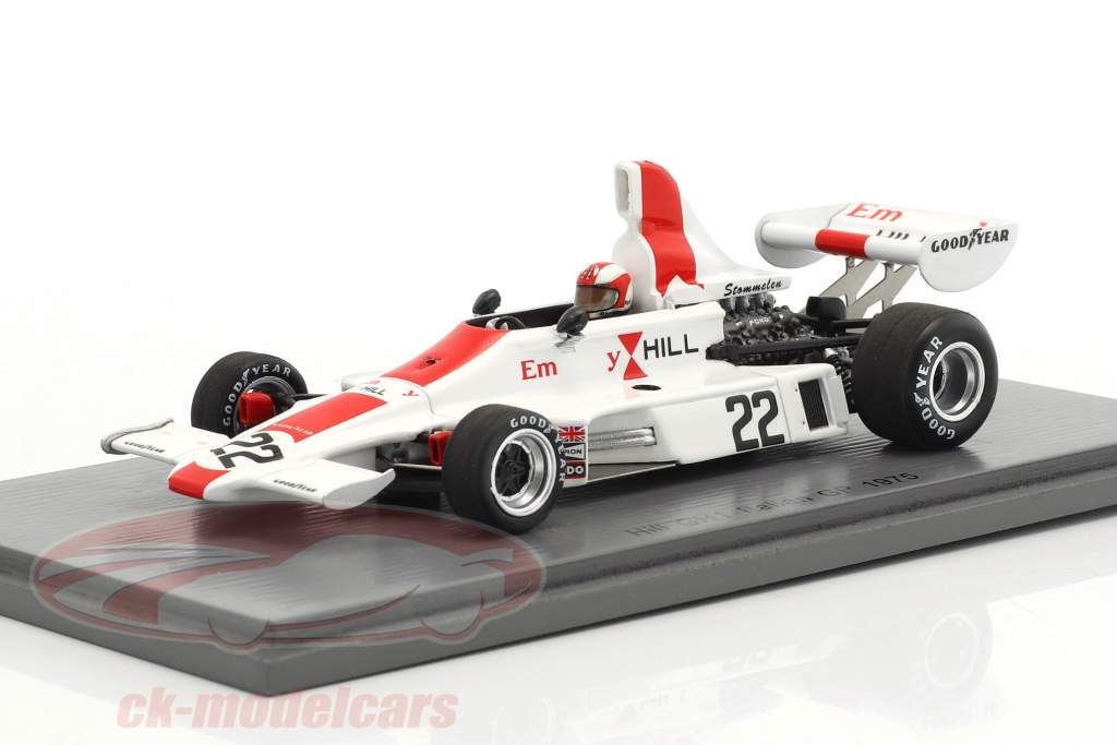 Rolf Stommelen Hill GH1 #22 Italia GP formula 1 1975 1:43 Spark