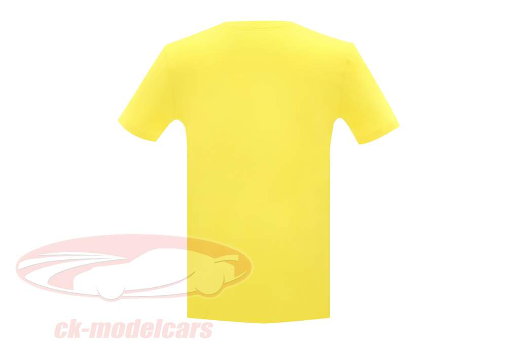 McLaren Greetings from Brazil James Hunt McLaren M23 T-shirt yellow