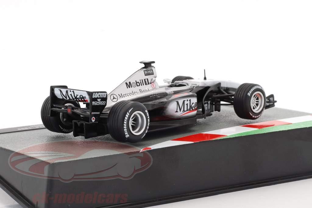 Mika Häkkinen McLaren Mercedes MP4/14 #1 Weltmeister Formel 1 1999 1:43 Altaya