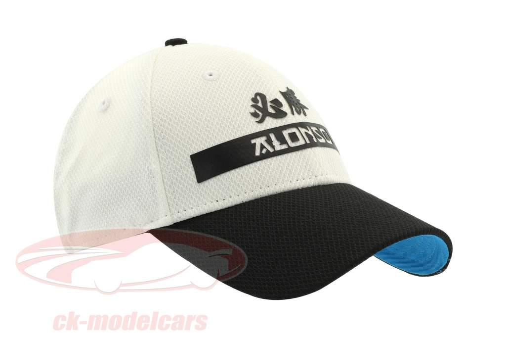 McLaren Honda Fernando Alonso #14 2017 Cap weiß / schwarz OSFA