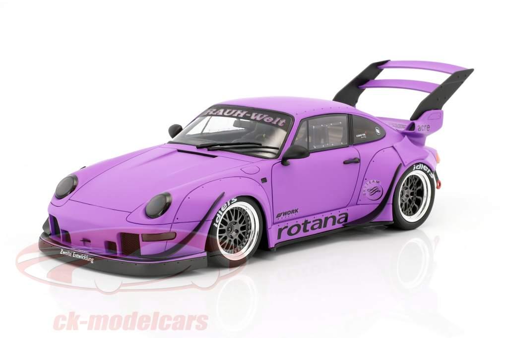 Porsche 911 (993) RWB Rotana tappetino porpora 1:18 GT-Spirit