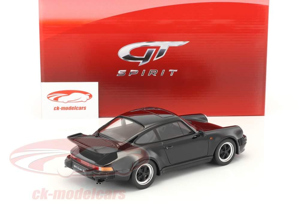 Porsche 911 (930) Turbo S black 1:18 GT-Spirit