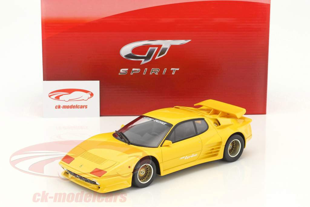 Koenig Specials Ferrari 512BBI Turbo year 1983 yellow 1:18 GT-Spirit