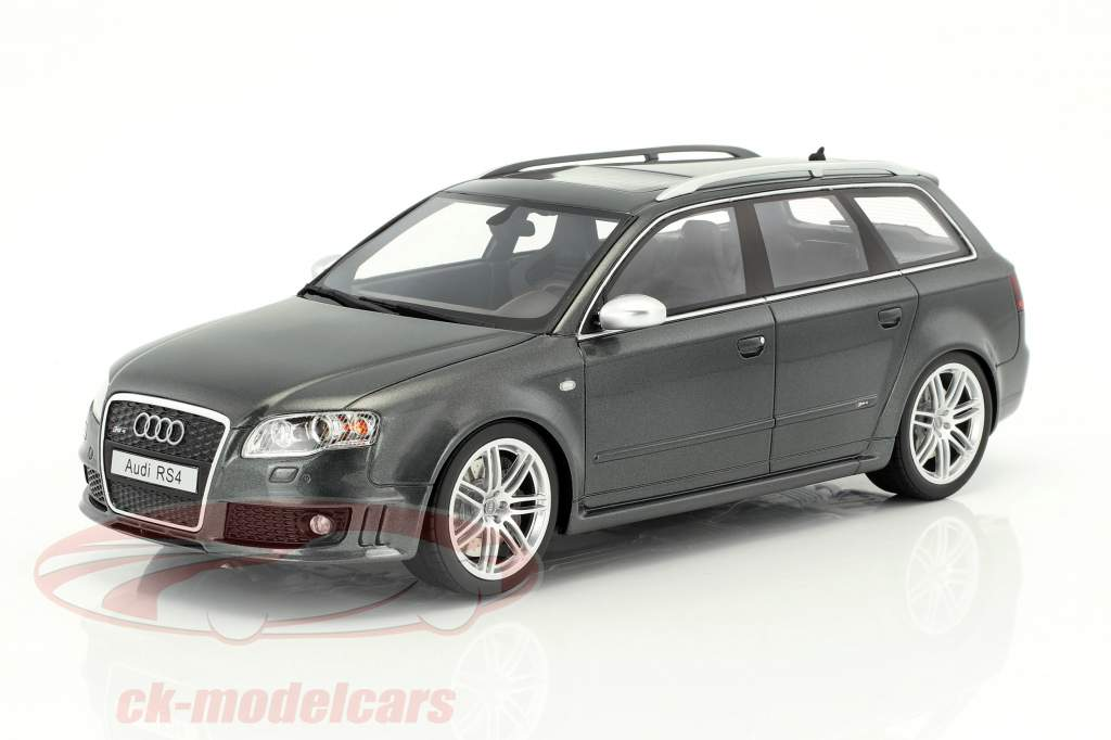 Audi RS4 B7 année de construction 2006 daytona gris 1:18 OttOmobile