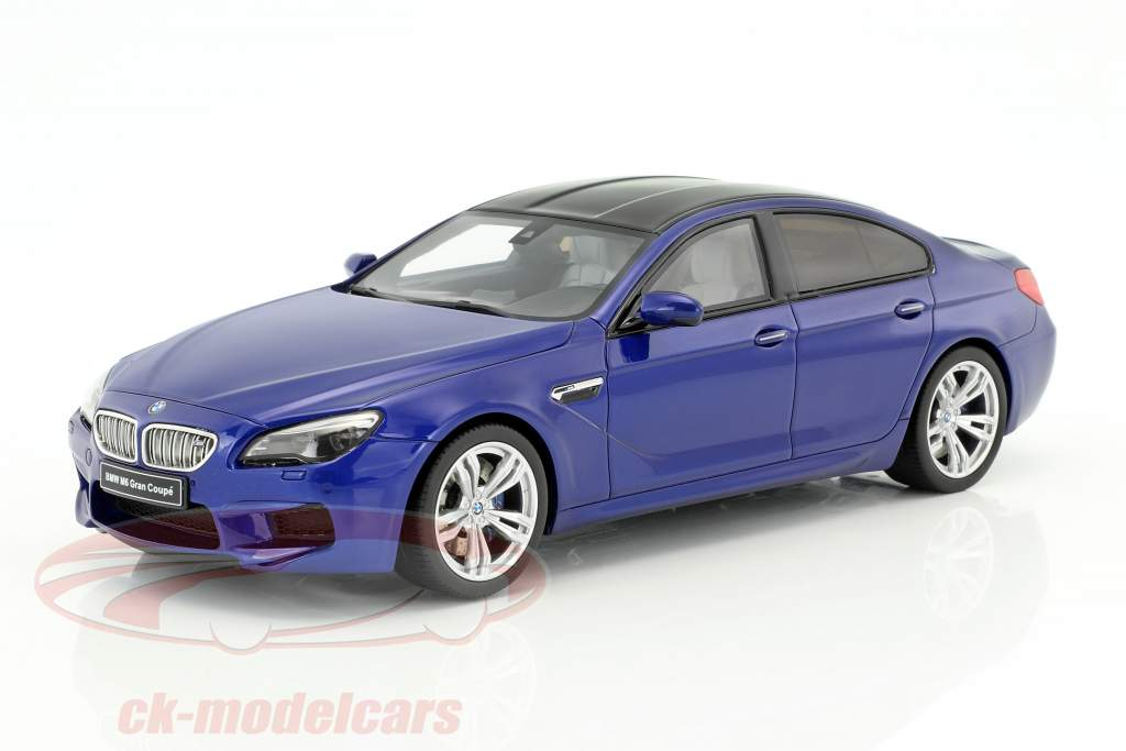 BMW M6 Gran Coupe blue 1:18 GT-Spirit