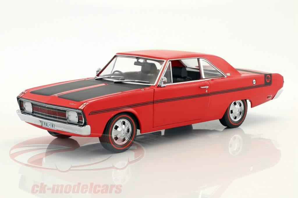 Chrysler Valiant VG Pacer Baujahr 1970 rot / schwarz 1:18 Greenlight