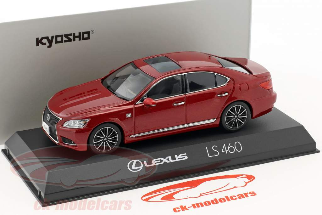 Lexus LS 460 F Sport rosso 1:43 Kyosho