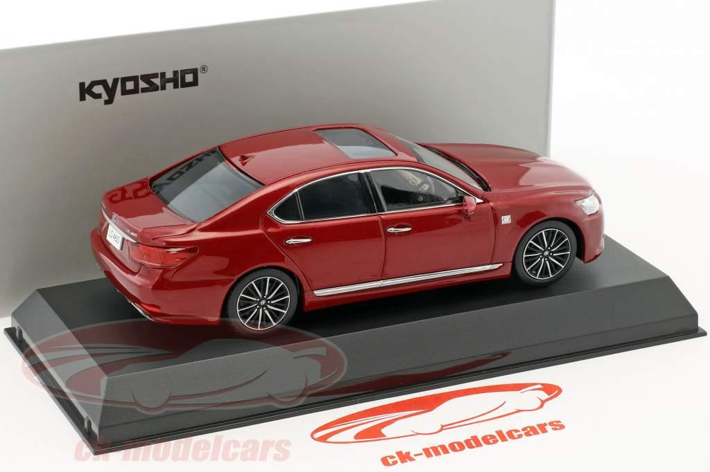 Lexus LS 460 F Sport red 1:43 Kyosho