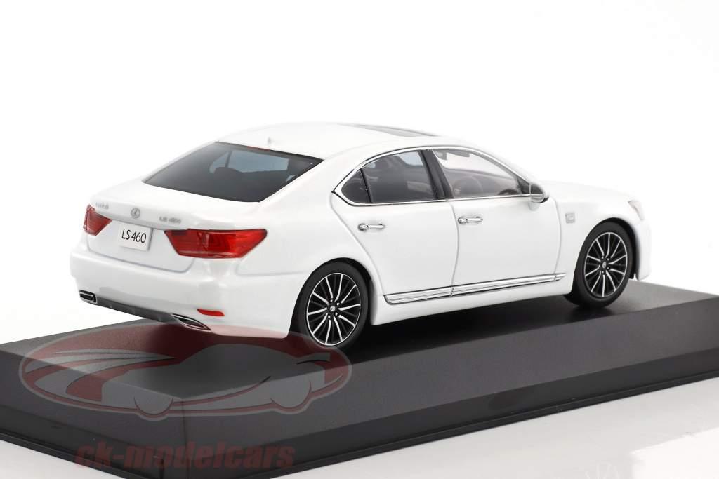 Lexus LS 460 F Sport bianco 1:43 Kyosho