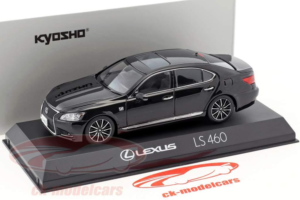 Lexus LS 460 F Sport nero 1:43 Kyosho