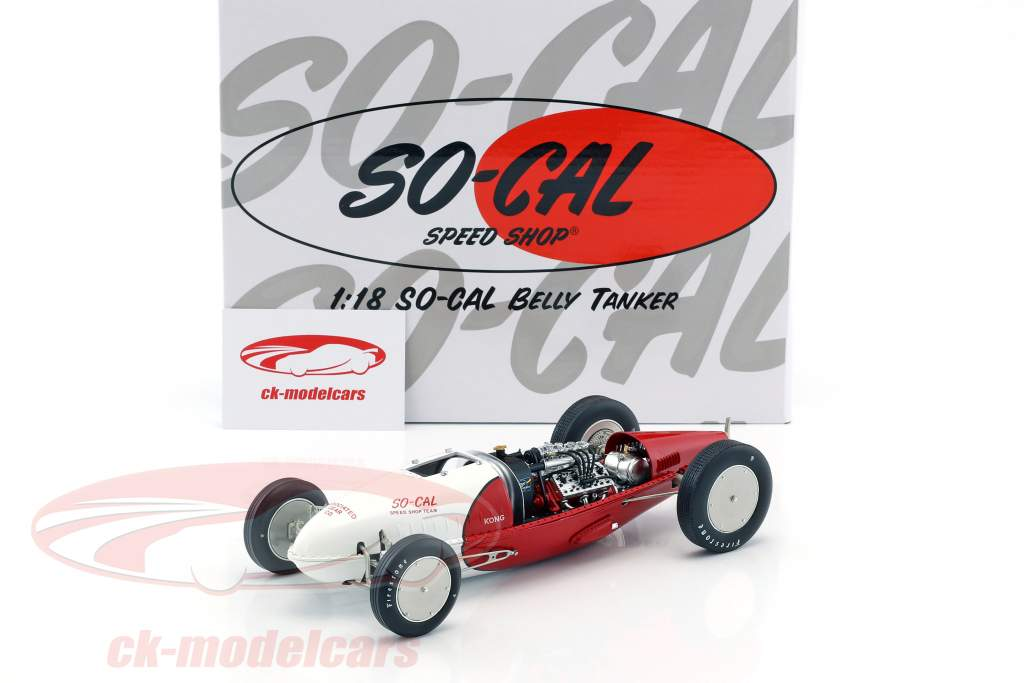 So-Cal Speed Shop Belly Tanker #28 rot / weiß 1:18 GMP