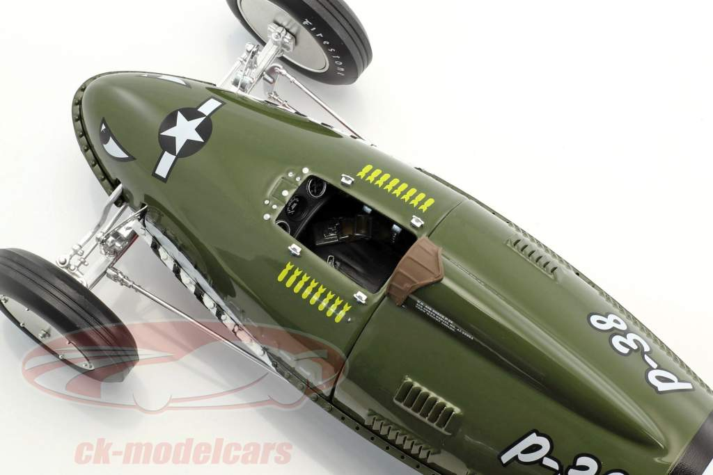 Southern Speed and Marine Belly Tanker olive vert 1:18 GMP