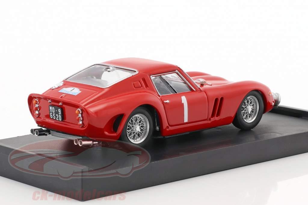 Ferrari 250 GTO #1 Rallye Neige et Glace 1964 Guichet, Clement 1:43 Brumm