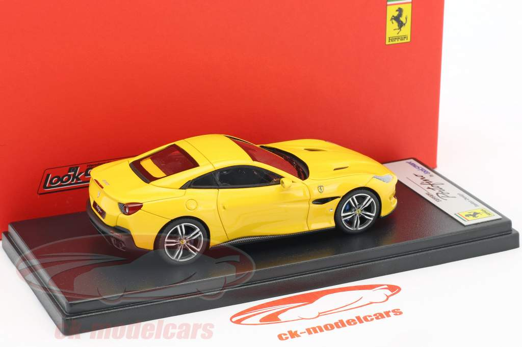 Ferrari Portofino year 2017 yellow 1:43 LookSmart