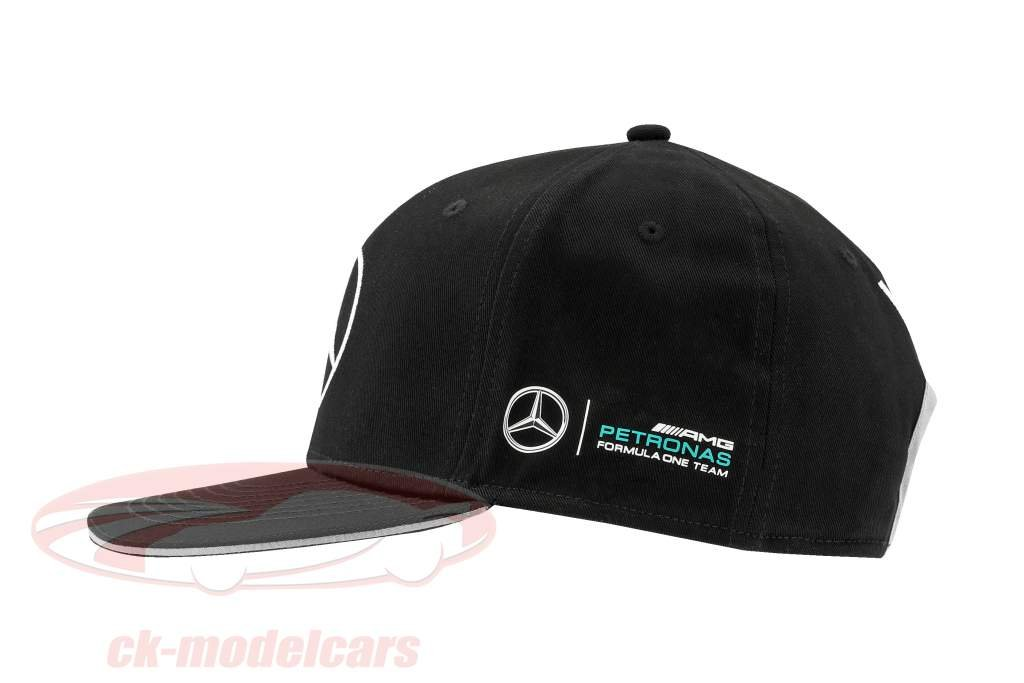 Valtteri Bottas Mercedes AMG Petronas F1 Team Flat Brim Cap black