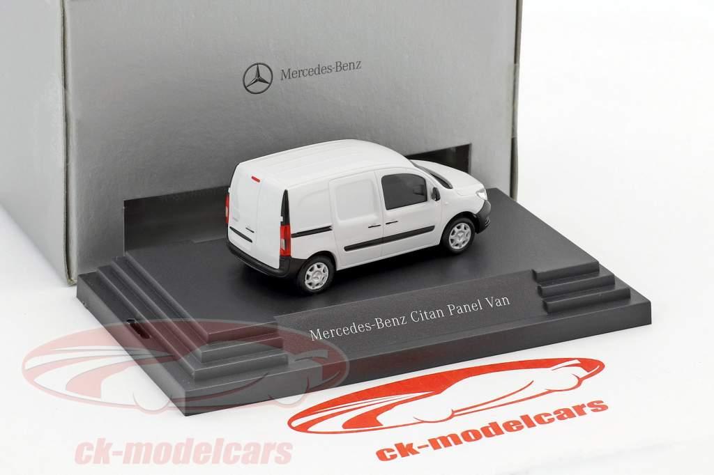 Mercedes-Benz Citan furgone Arktik bianco 1:87 Busch