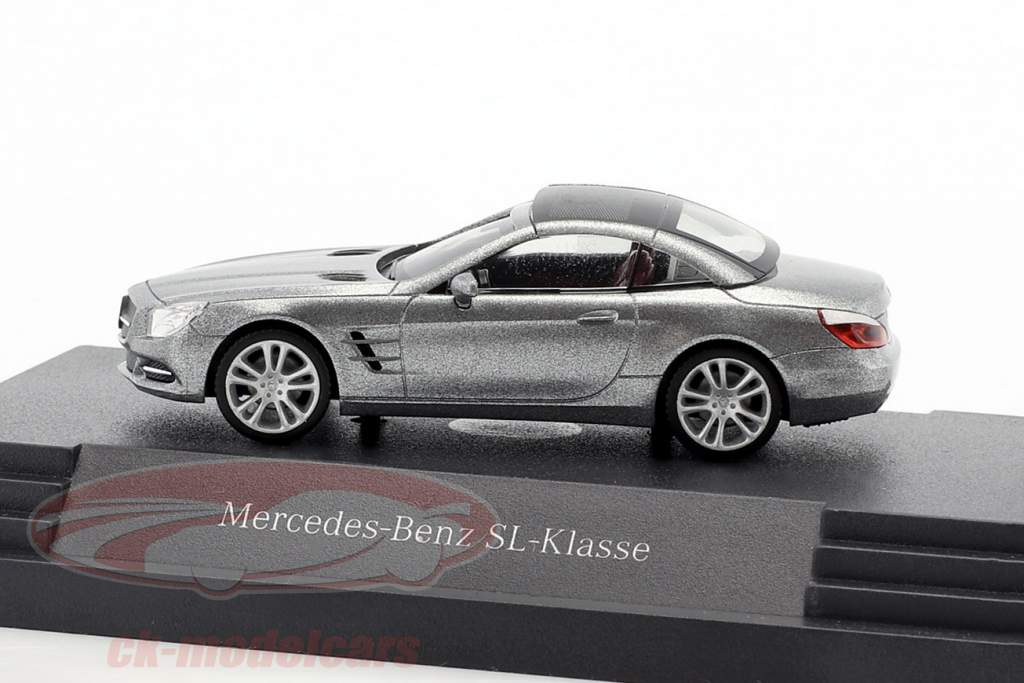 Mercedes-Benz SL-Klasse palladium silber metallic 1:87 Herpa