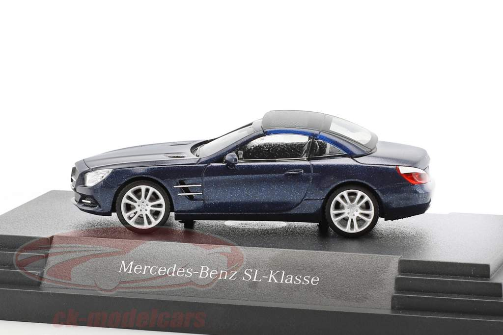 Mercedes-Benz SL-Klasse Cavansit blue metallic 1:87 Herpa