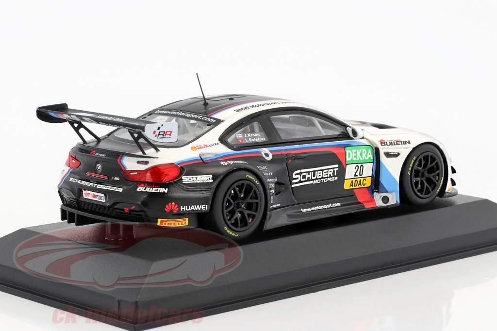 BMW M6 GT3 #20 ADAC GT Master 2016 Krohn, Deletraz 1:43 Minichamps