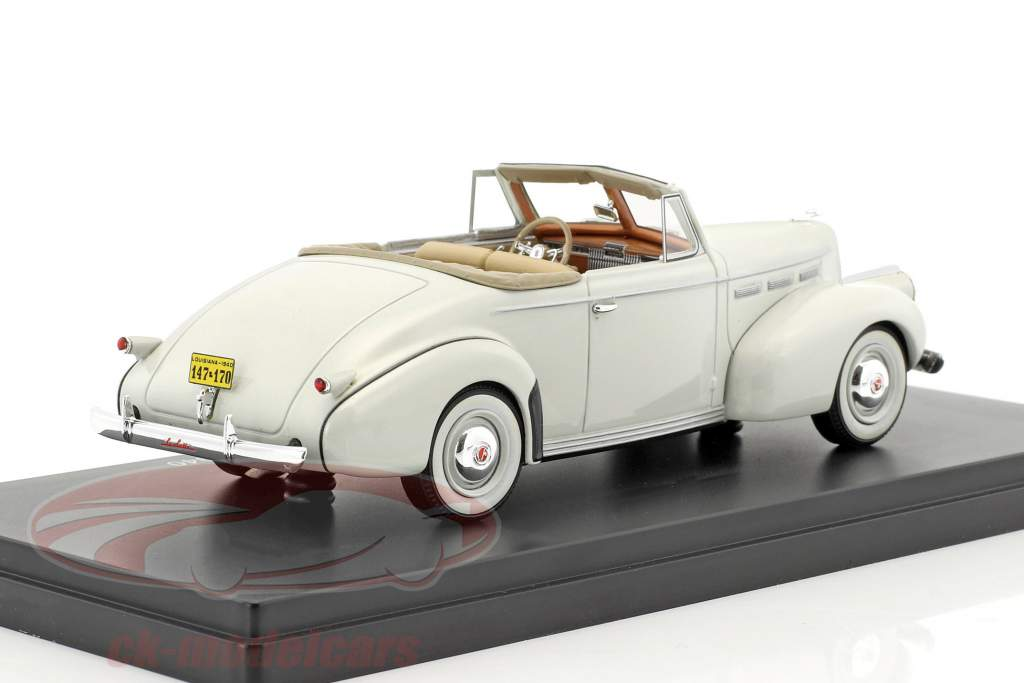 LaSalle Series 50 Convertible Coupe year 1940 light gray 1:43 Neo