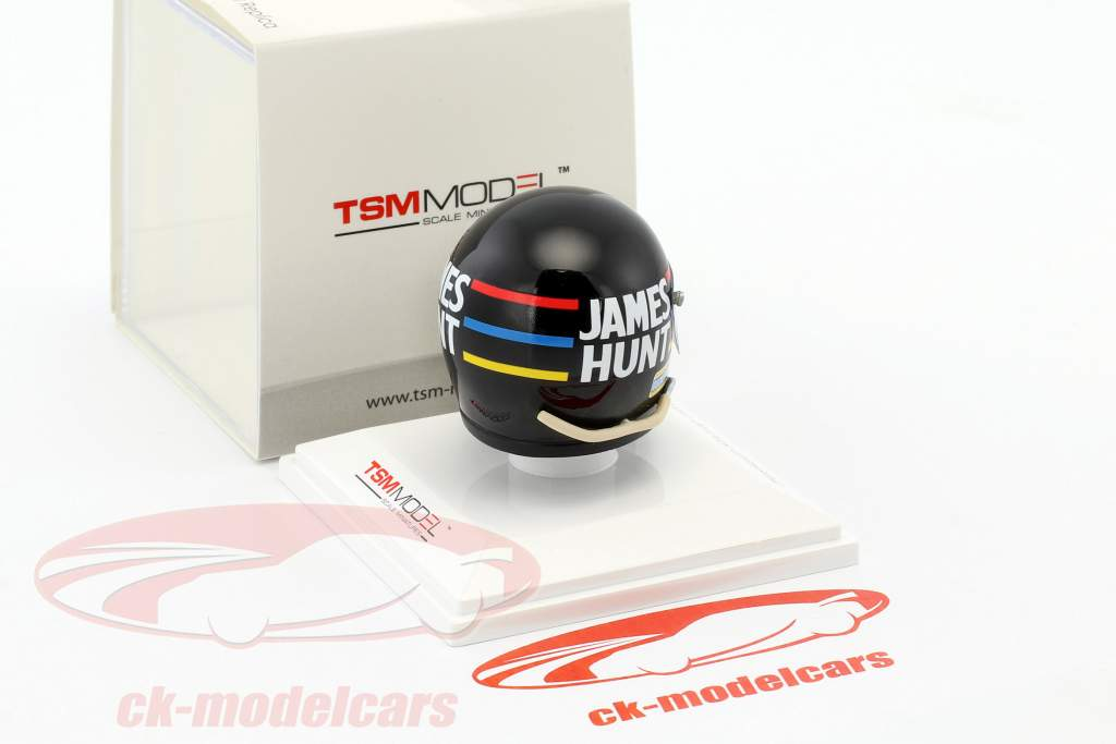 James Hunt Hesketh Racing formule 1 1973 casque 1:8 TrueScale