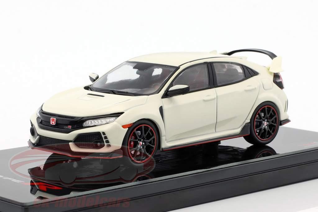 Honda Civic Type R LHD white 1:43 TrueScale