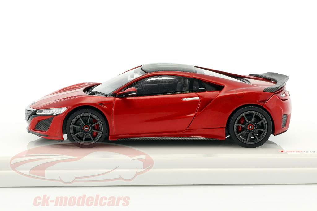 Honda NSX year 2017 red metallic 1:43 TrueScale