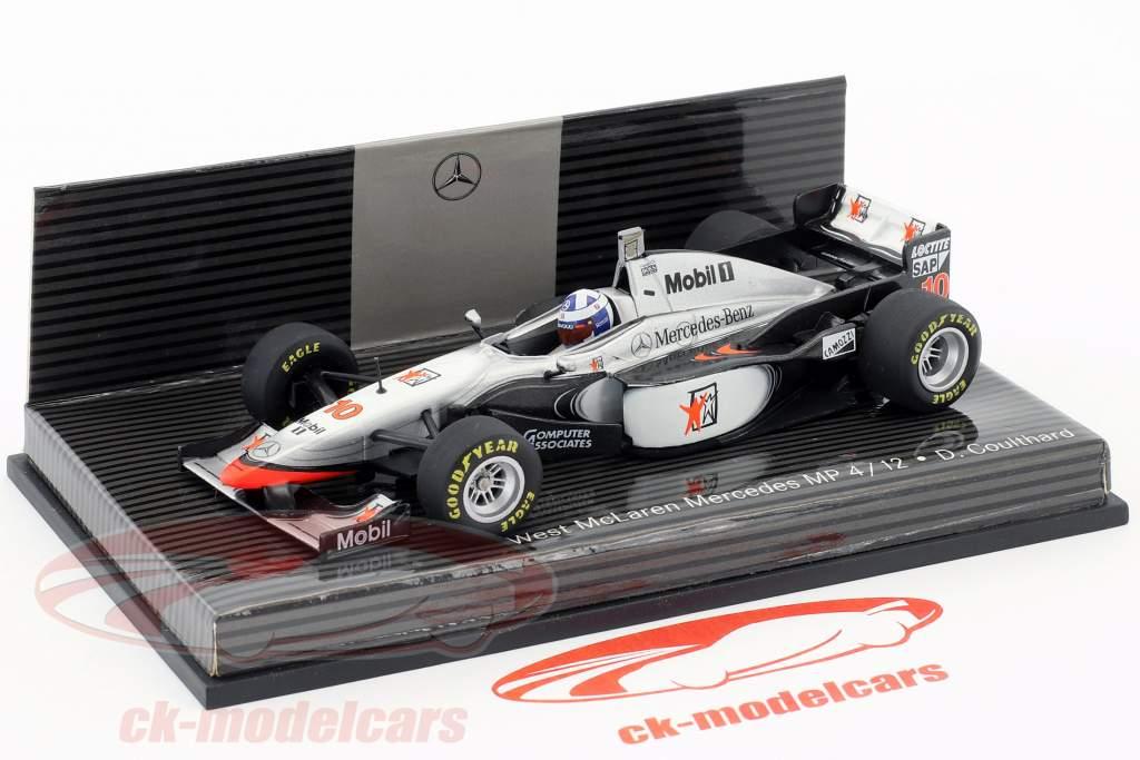 David Coulthard McLaren MP4/12 #10 formula 1 1997 1:43 Minichamps