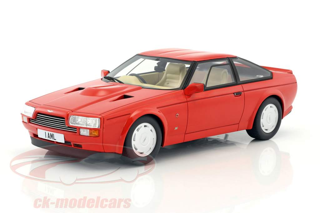 Aston Martin V8 Zagato year 1986 red 1:18 Cult Scale
