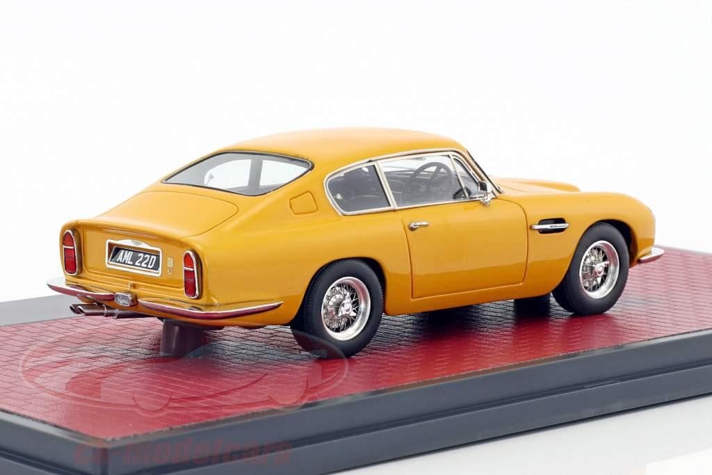 Aston Martin DB6 Vantage année de construction 1965 jaune 1:43 Matrix