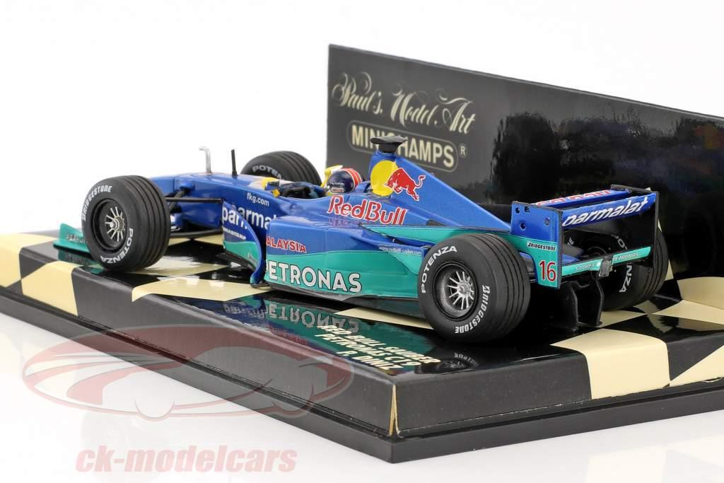 Pedro Diniz Sauber C19 #16 formula 1 2000 1:43 Minichamps