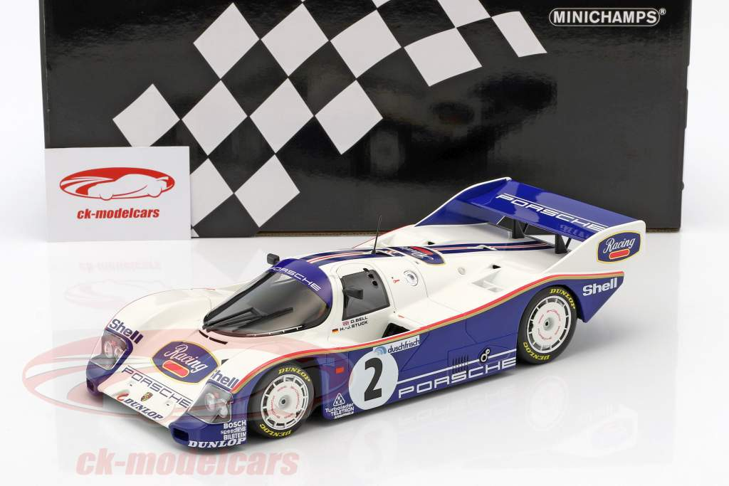 Porsche 962 C #2 gagnant 1000km Hockenheim 1985 Stuck, Bell 1:18 Minichamps