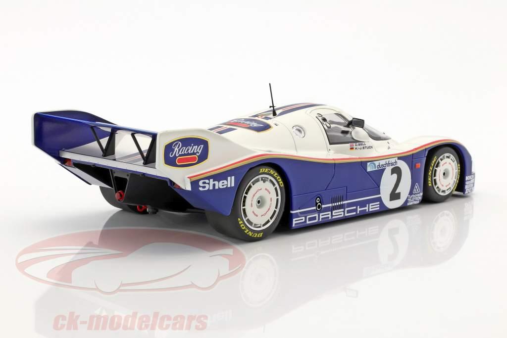 Porsche 962 C #2 Winner 1000km Hockenheim 1985 Stuck, Bell 1:18 Minichamps