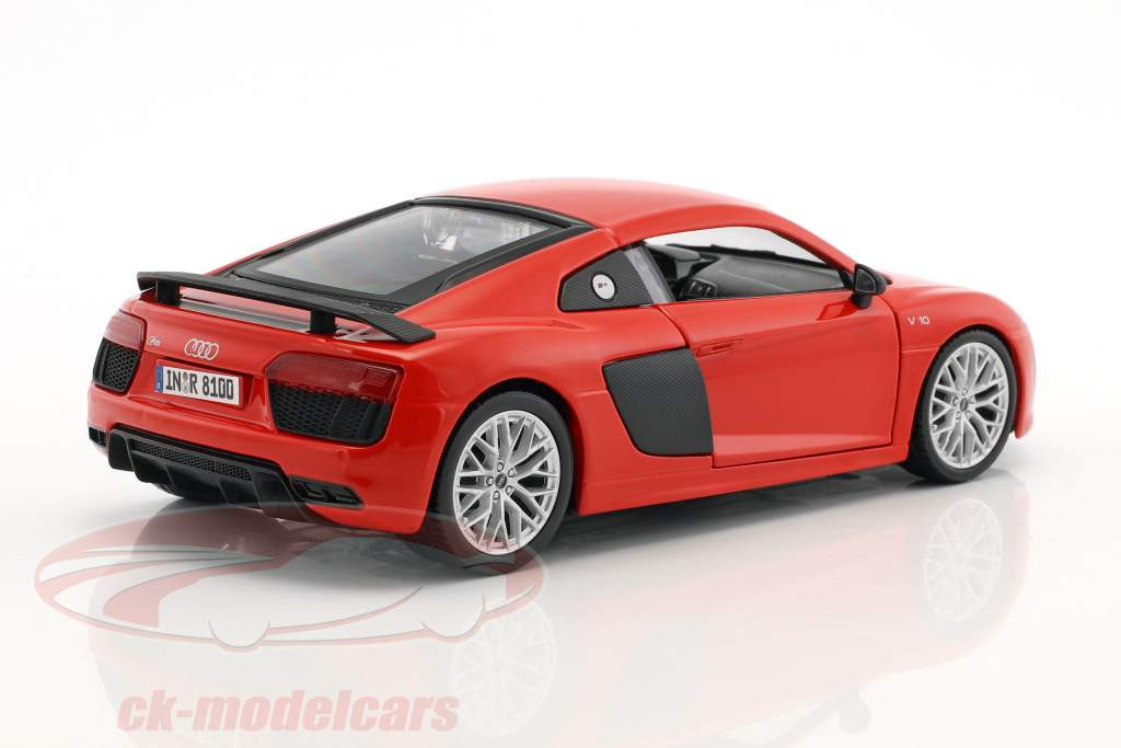 Audi R8 V10 Plus red / black 1:24 Maisto