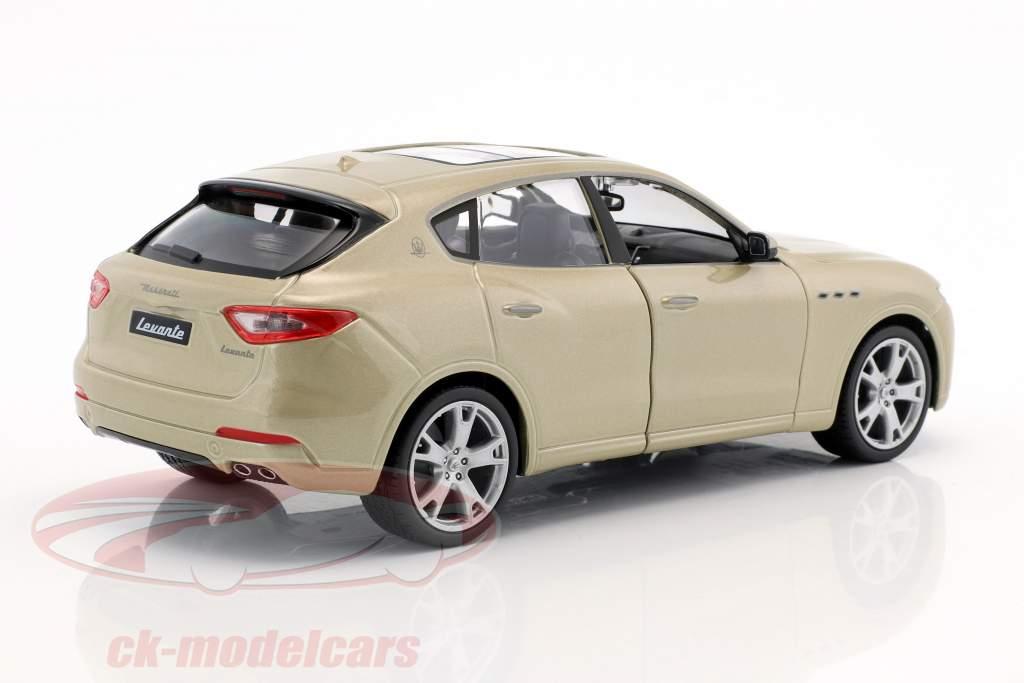 Maserati Levante gold 1:24 Bburago
