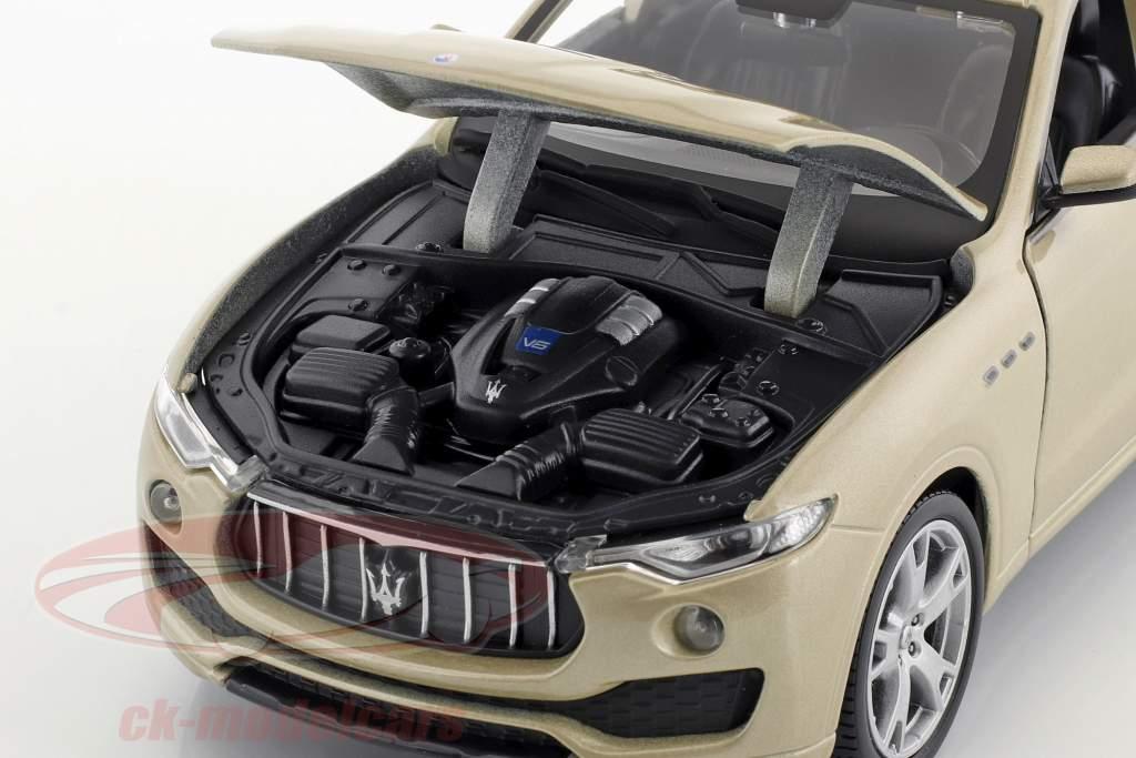 Maserati Levante oro 1:24 Bburago