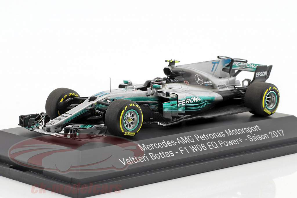 Valtteri Bottas Mercedes F1 W08 EQ Power  #77 Formel 1 2017 1:43 Minichamps